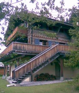 Grand Chalet Familial en vieux bois - Chermignon