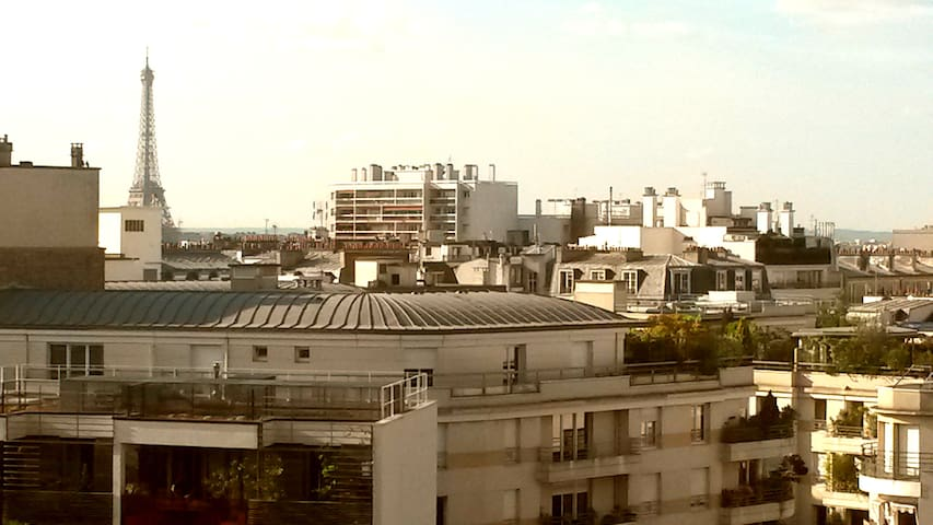 Nice flat with large terrace! - París - Apartamento