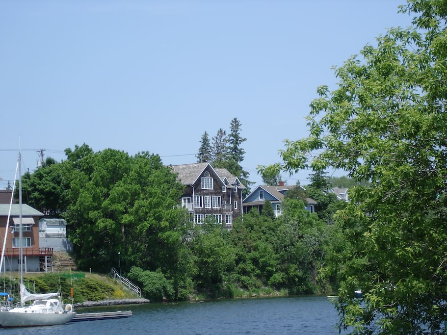 We are situated right on Picton Harbour - part of the Bay of Quinte