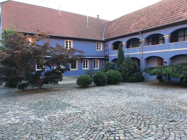 Dans corps de ferme spacieux duplex cosy de 125m2 - Mittelschaeffolsheim - 公寓