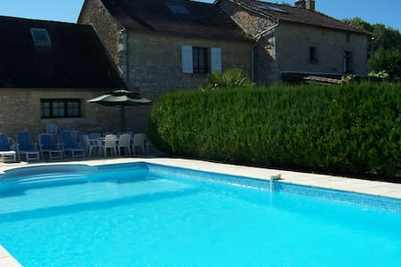 Large House, Swimming Pool, Tennis - Corgnac sur l'Isle