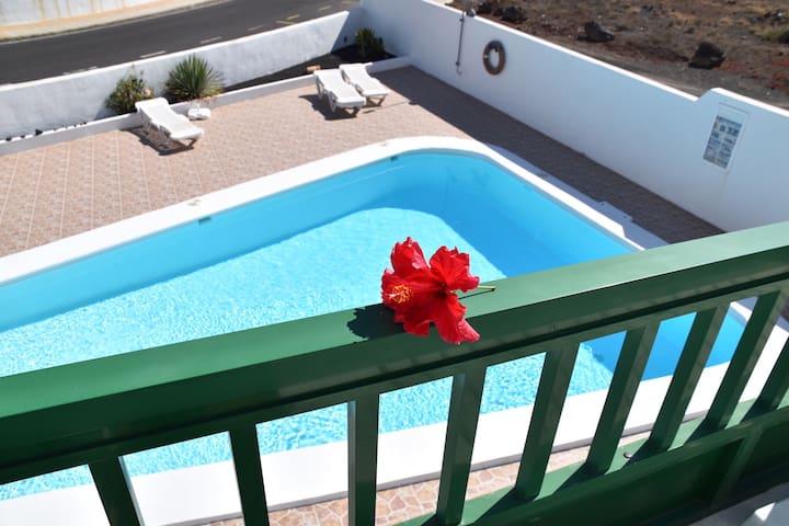 Alhambra  private patio/terrace