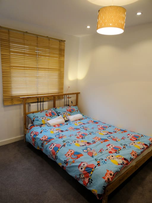 Cosy and comfortable double room with private shower room & toilet