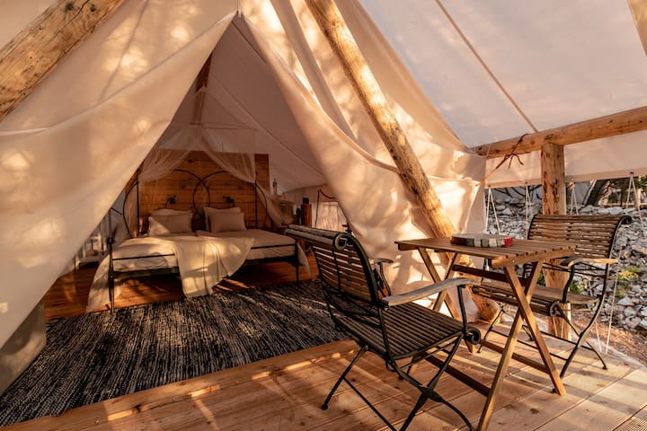 Plage Cachée - Glamping -Open space holiday home