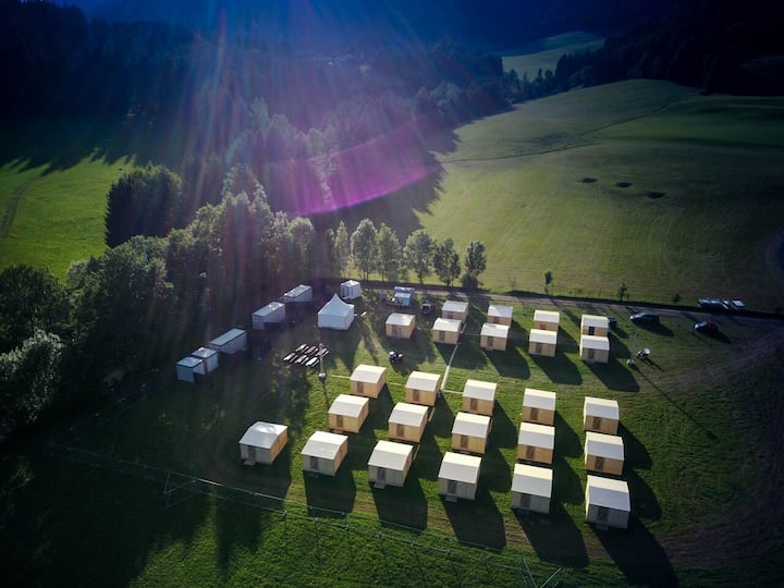 Event Lodge Camping Spielberg - 2 Betten