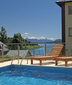 Breathtaking views Beach Apartment with pool! - San Carlos de Bariloche - Apartment