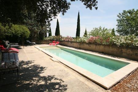 Authentique mas provençal piscine - Lagarde-Paréol