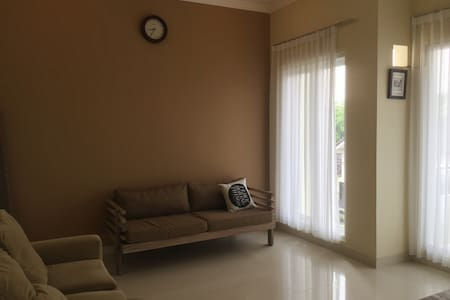 Trouvaille Comfort modern home at north Jogjakarta