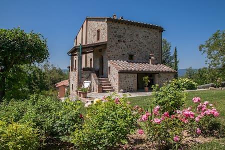 Very Private Country House w. Pool - Città della Pieve