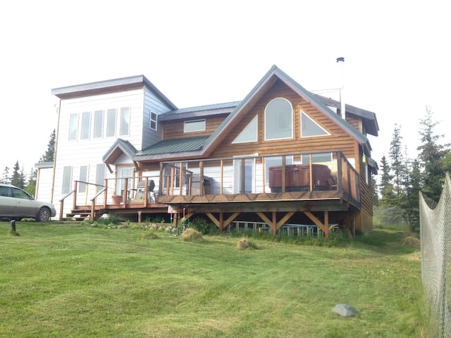 Private Bay View Family Home - Homer - Huis