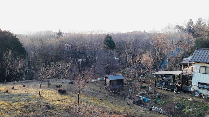 山里のアトリエハウス 夢拓香 – 山の中の一軒家/陶芸体験&自然体験
