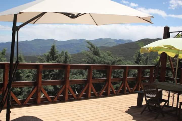 Chalet pleine nature - Vue panoramique