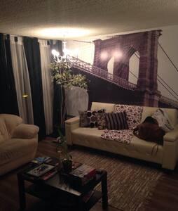 Departamento amplio y comodo - Apartamento