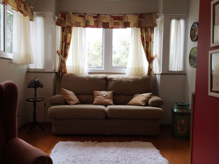 Sala - sofá-cama de casal