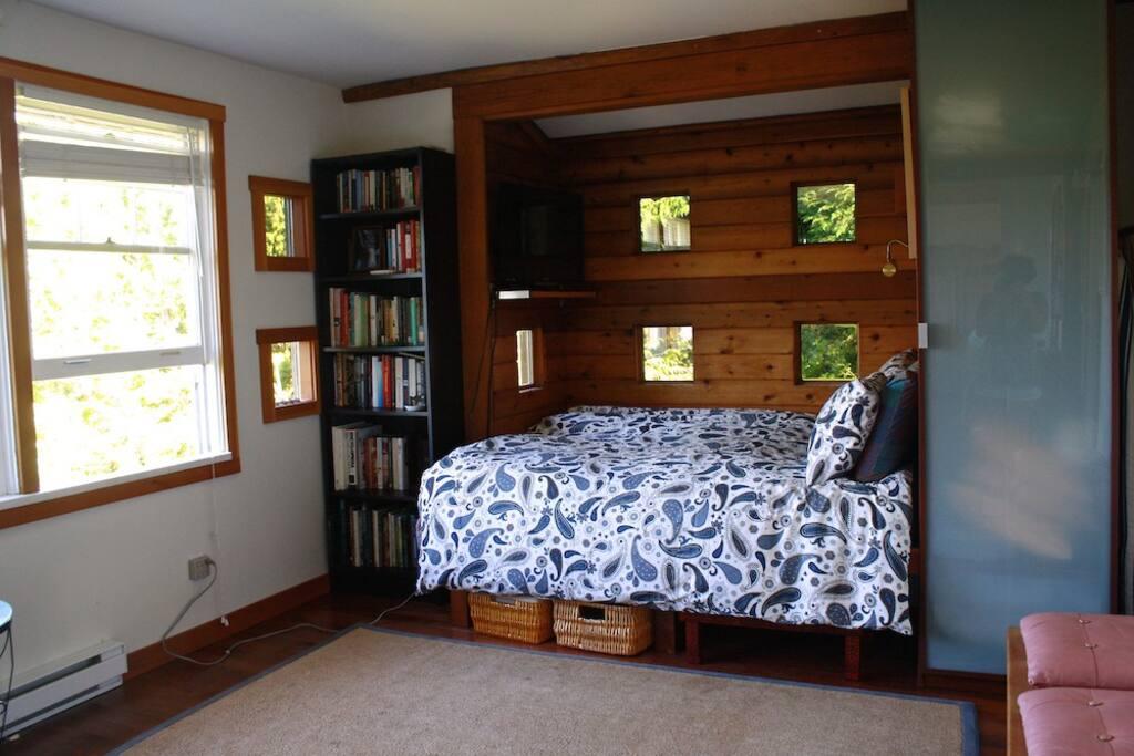 Bedroom space.