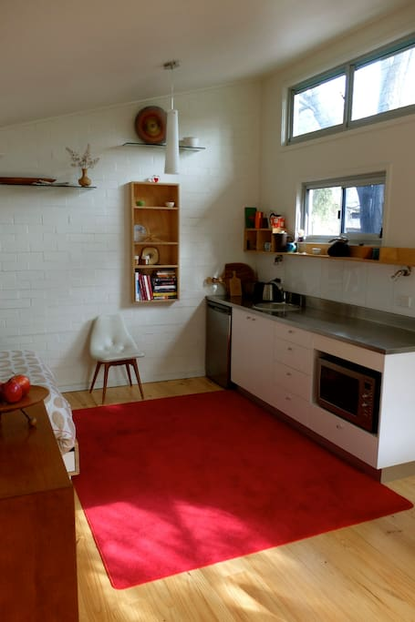 37a parkside garden studio apartments for rent in for Parkside guest house bath