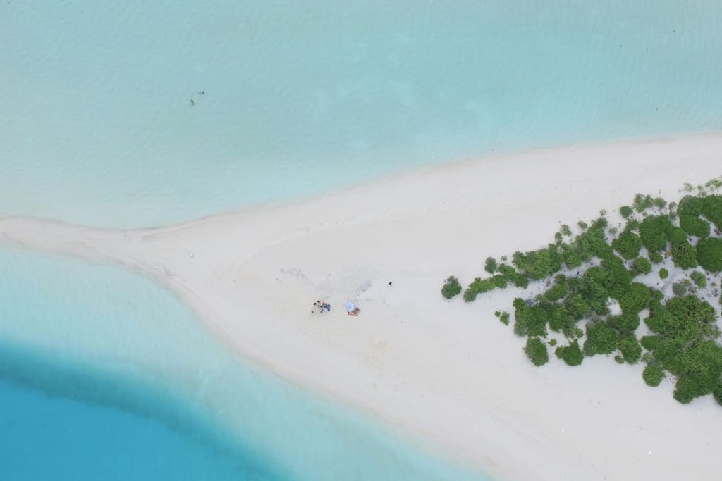Over View Of Sand bank Island