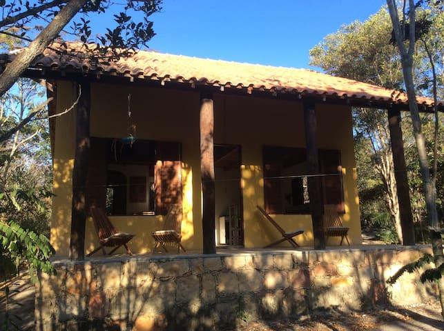 Capão Chapada Diamantina linda casa - Palmeiras - Huis