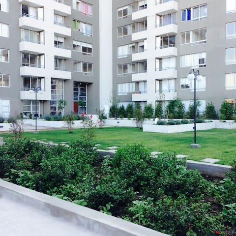 Cómodo lugar para visitar Santiago - La Cisterna - Appartement