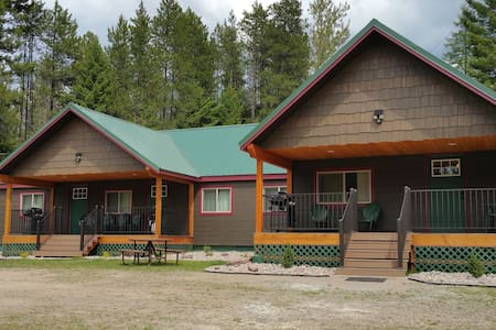 12 Min drive to GNP Trout Run at Lazy Bear Lodging