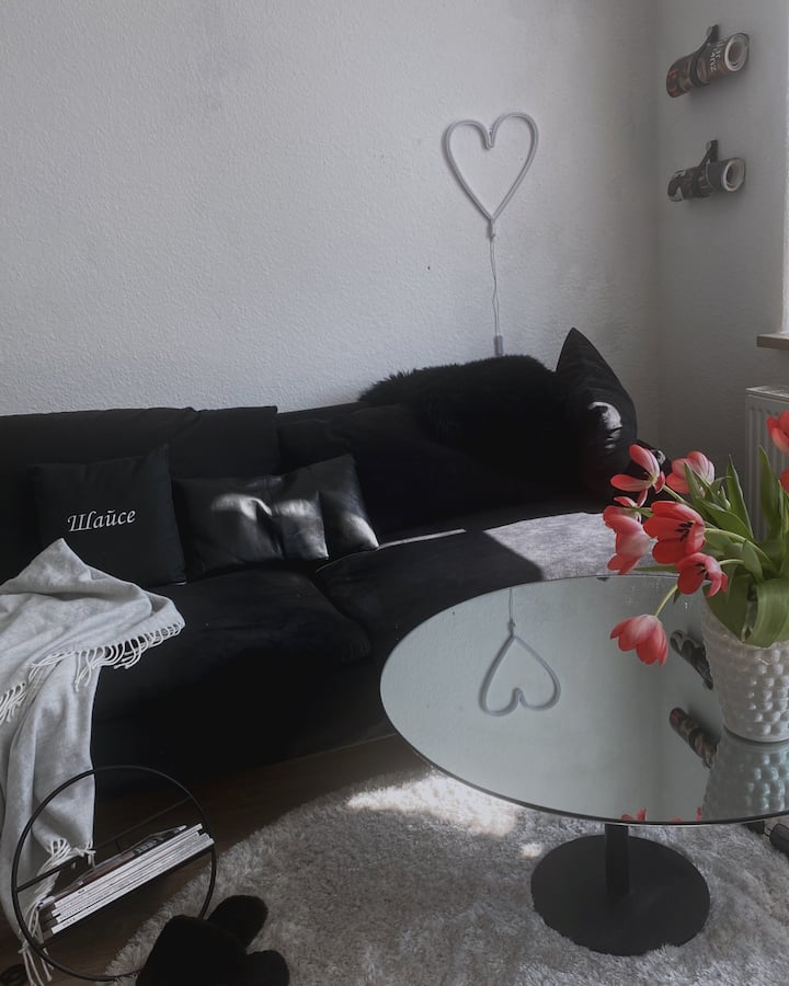 50qm minimalistic apartment (Hanover)