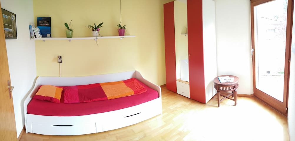 Nice room with balcony near city center!