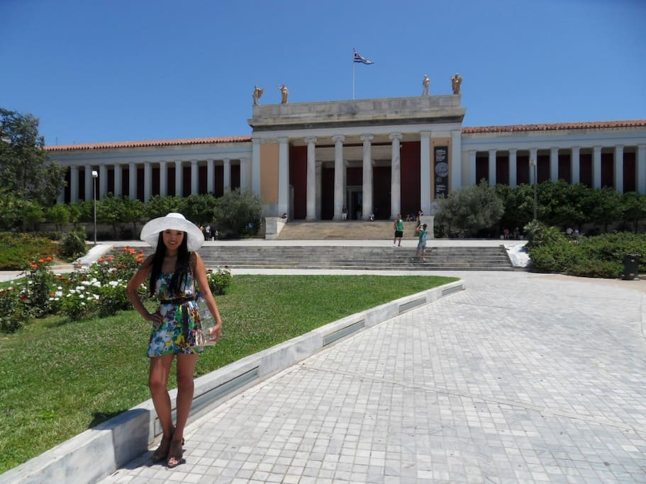 Archaeological museum only 6 minutes walking distance