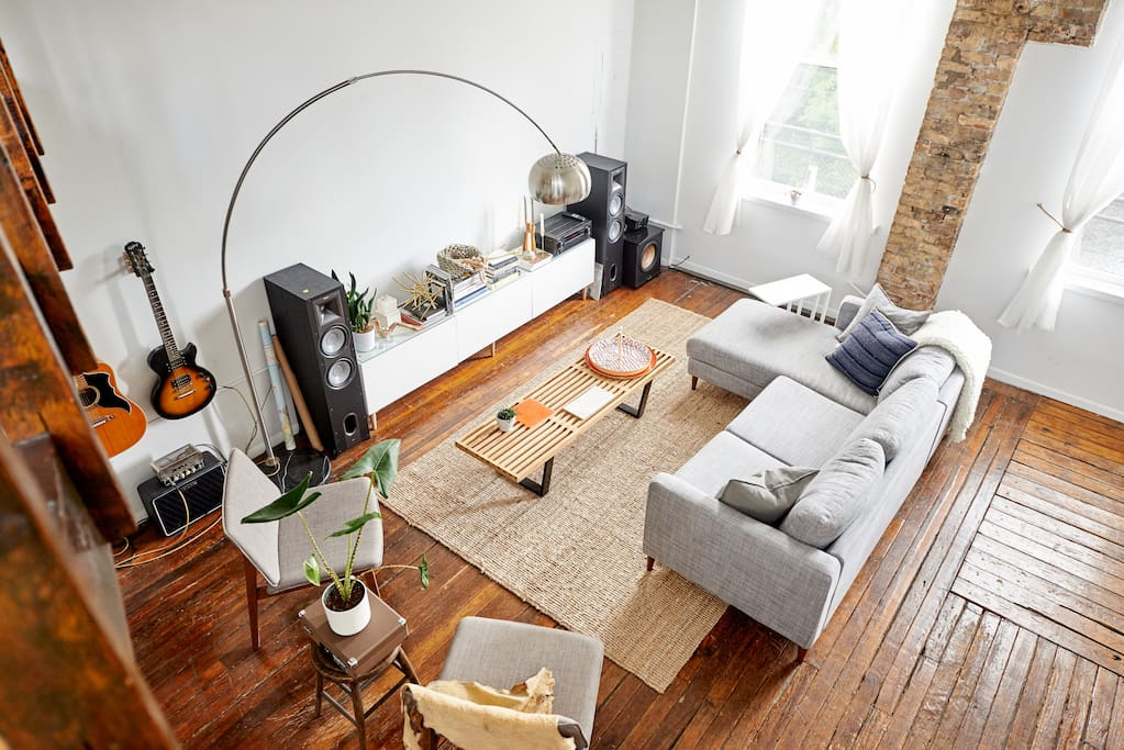 the huge main living room area