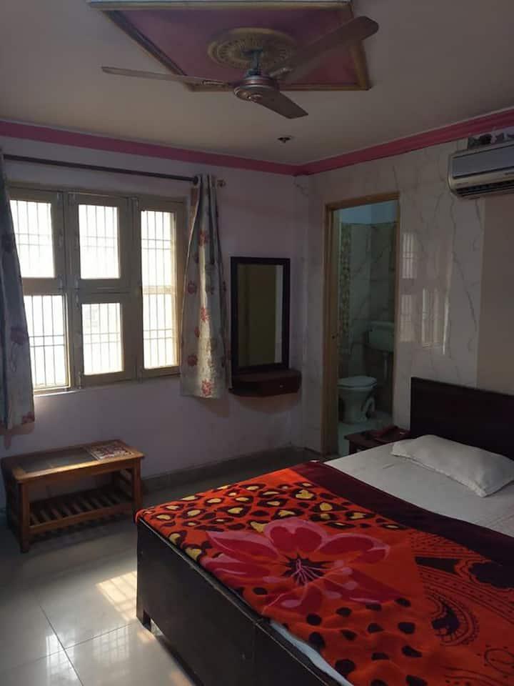 Private Ac -non Ac rooms in a hotel
