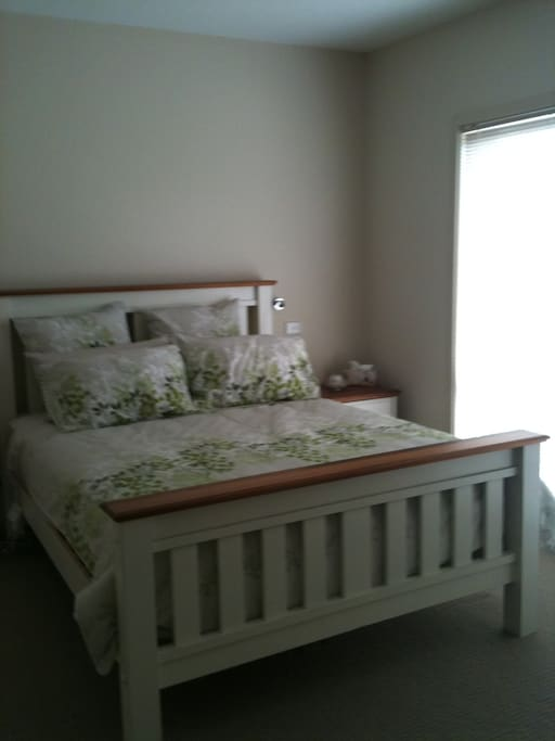 Master bedroom with walk in robe and full ensuite