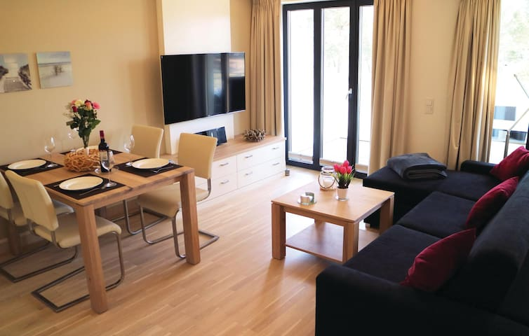 Holiday apartment with 1 bedroom on 44m² in Prora/Rügen