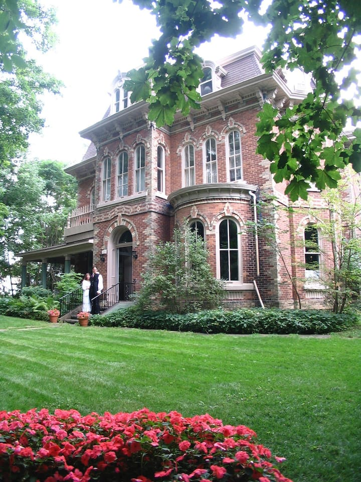The Highland Manor is a magnificent 7500 Sq. Ft. Mansion. Listed here is the 1st of our 4 Guest Rooms