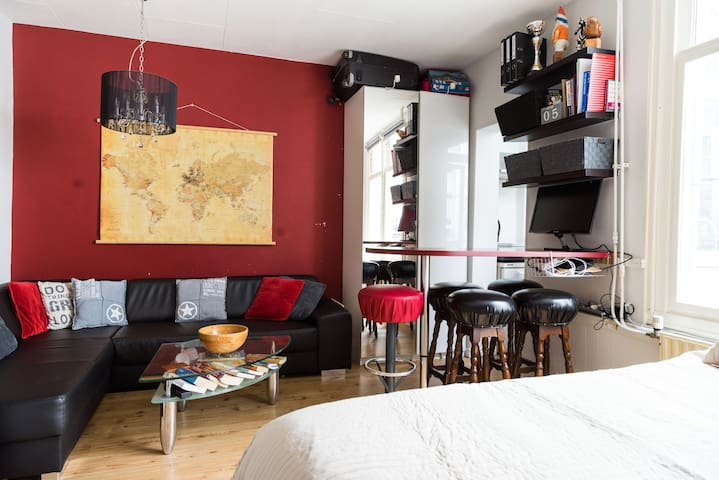 Fully equipped studio in Jordaan - Amsterdam - Apartemen