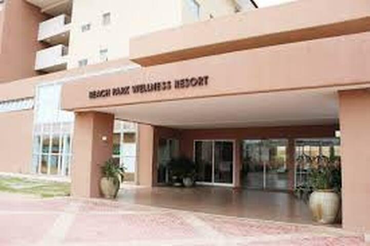 Recepção do Resort