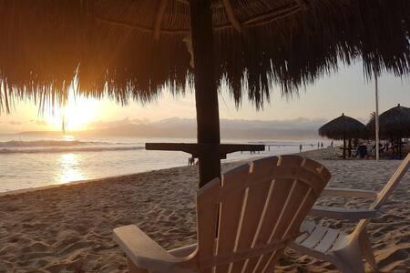 Depa con vista a la playa - Nuevo Vallarta