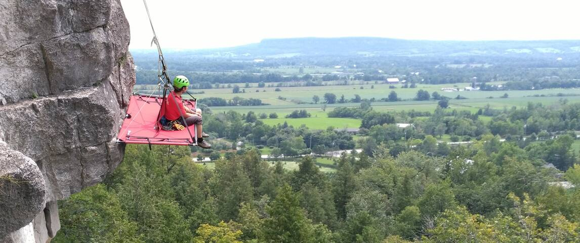 Portaledge Camping Experience