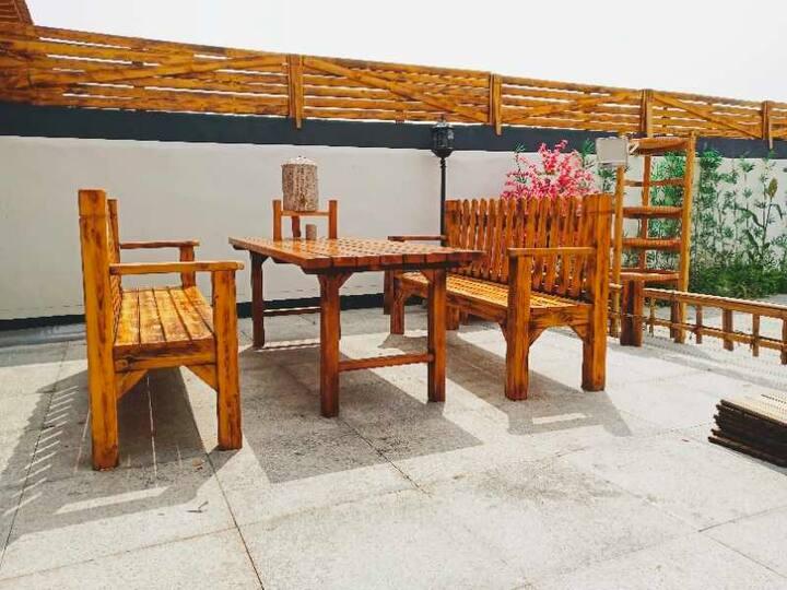闹中取静,中式庭院,禅茶一味,不一样的感觉。