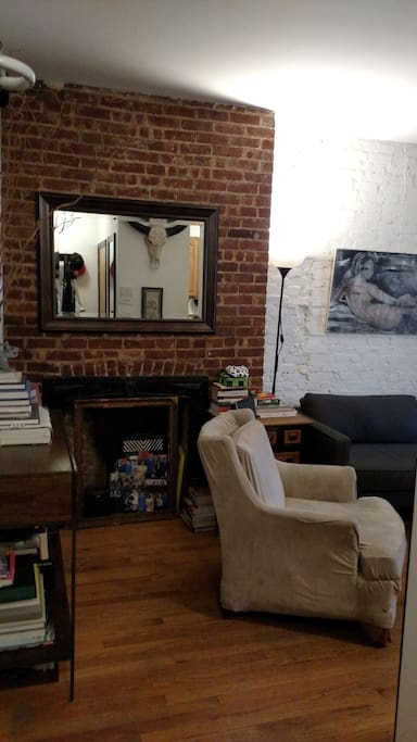 View of living room from entryway