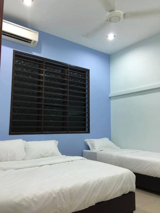 Rooms that can accommodate 3 pax