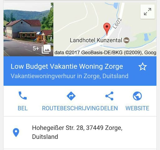 Low Budget Vakantie Woning Zorge - Zorge - House