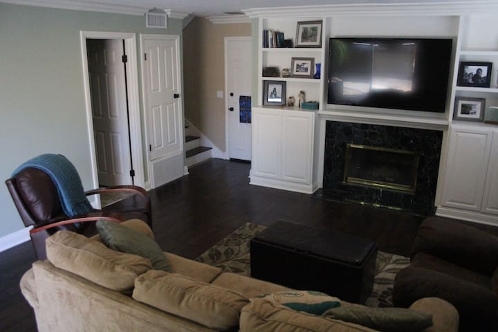 Separate TV area for Kids. Netflix and Xbox one.