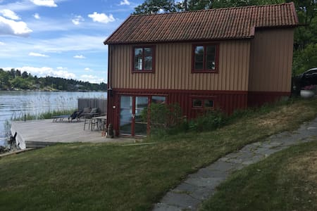 Summerhouse by the sea in Stockholm - Lidingö - Casa