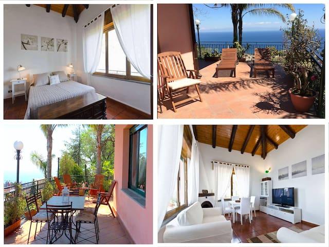 CASA LILI with Terrace Garden + View  in Taormina