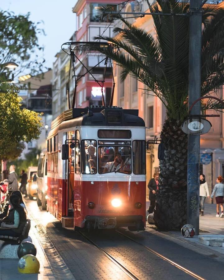 Nostalgic Tram in Kadikoy