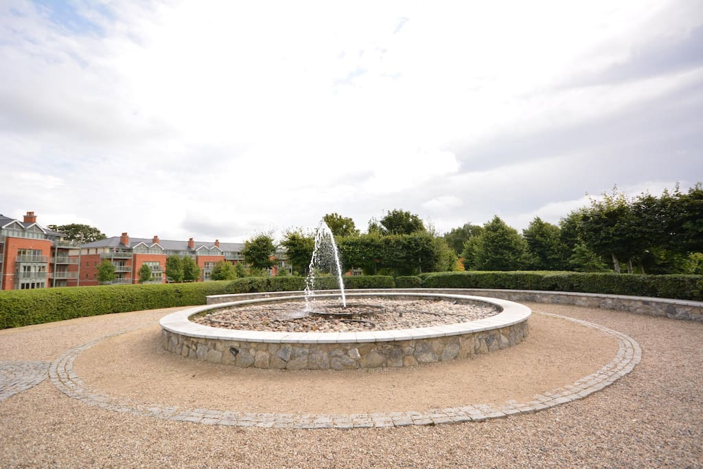 Fountain in gardens