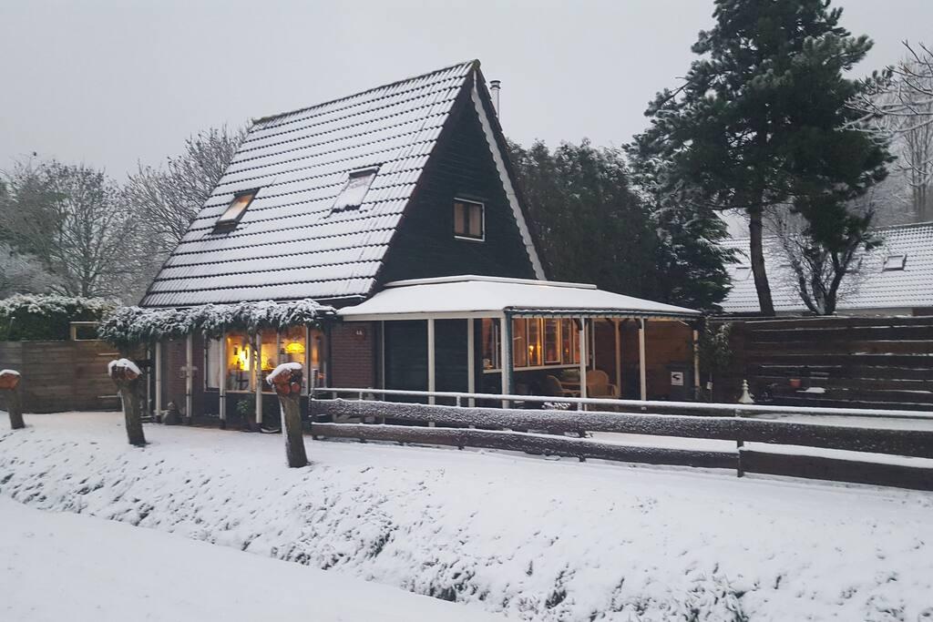 Maar zonder sneeuw natuurlijk even aantrekkelijk ;-)