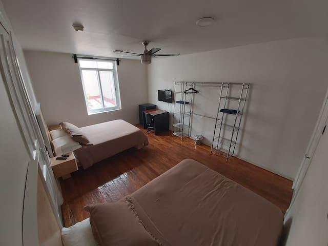 Spacious room w/privet bathroom  in the best area