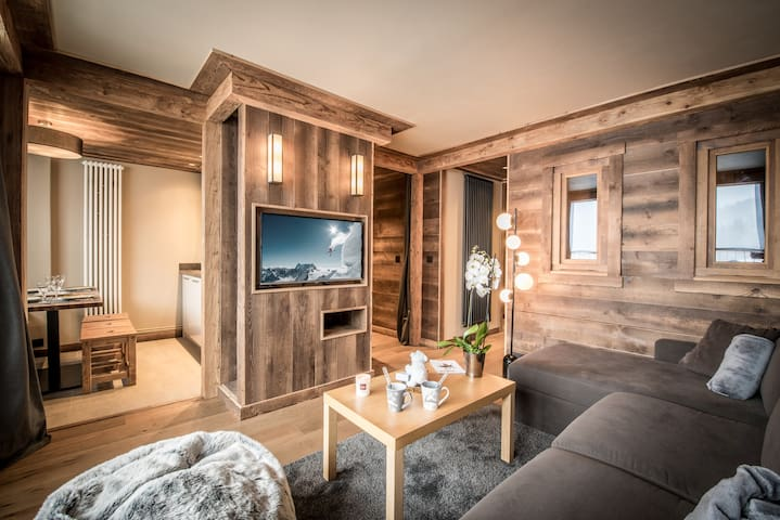 Lovely and Cosy apartment in Courchevel Moriond - Saint-Bon-Tarentaise - Daire