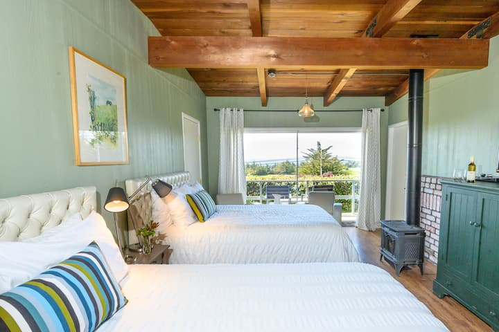 Point Cabrillo :: Ocean View :: Double Bedroom