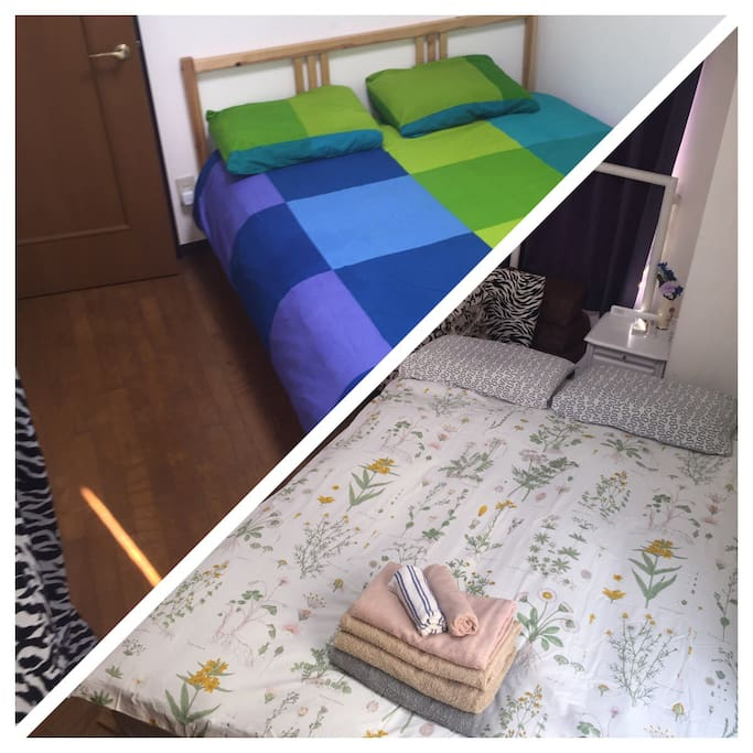 2 bedrooms apartment + Free WiFi